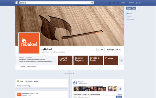 Facebookmockup