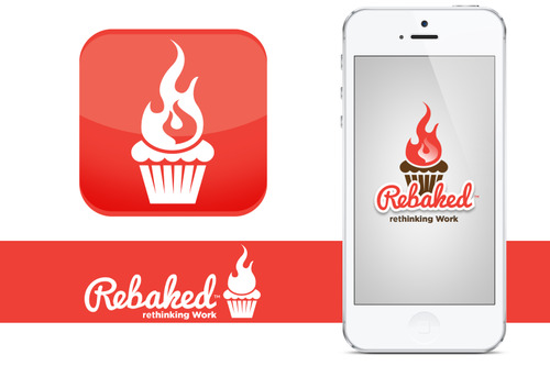 Rebaked-cupcake-flame-icon-and-iphone-logo
